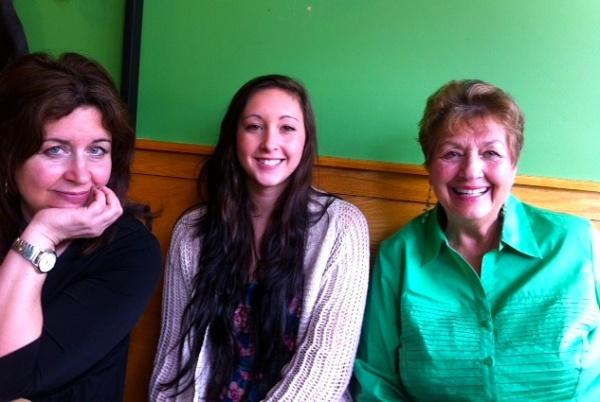 mom green wall