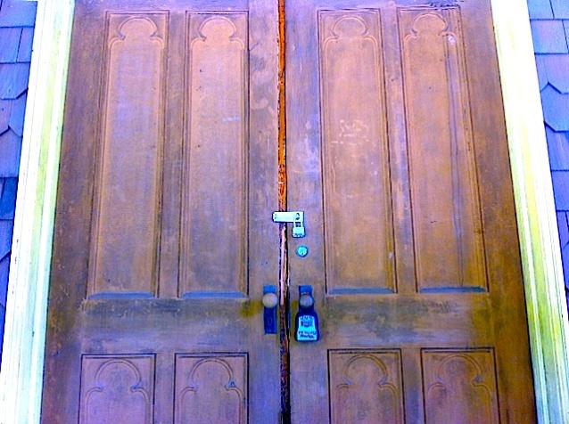 door locked