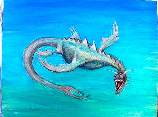 underwater dragon
