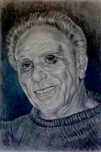 Andrea's Dad/pencil