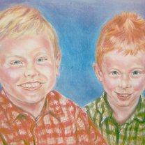 Twins/pastel