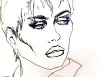 close face/ink