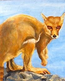 Foxroo/acrylic