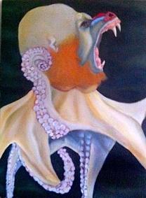 Baboonpus/acrylic