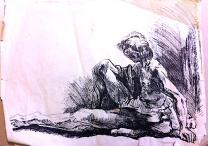 Rembrandt ink