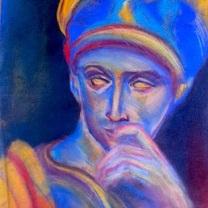 Statue/pastel