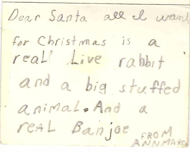 8 Years Old Xmas-written