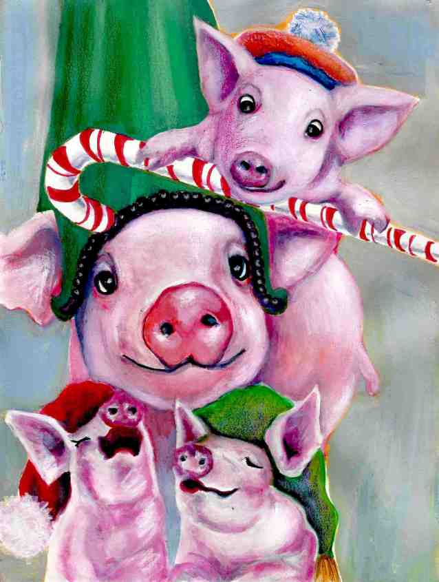 Peppermint Pigs