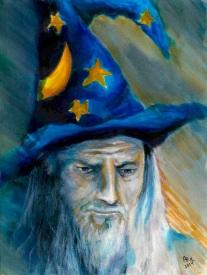 Praying Wizard
