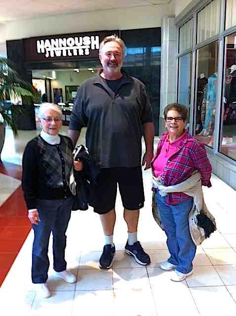 giant husband tiny walkers