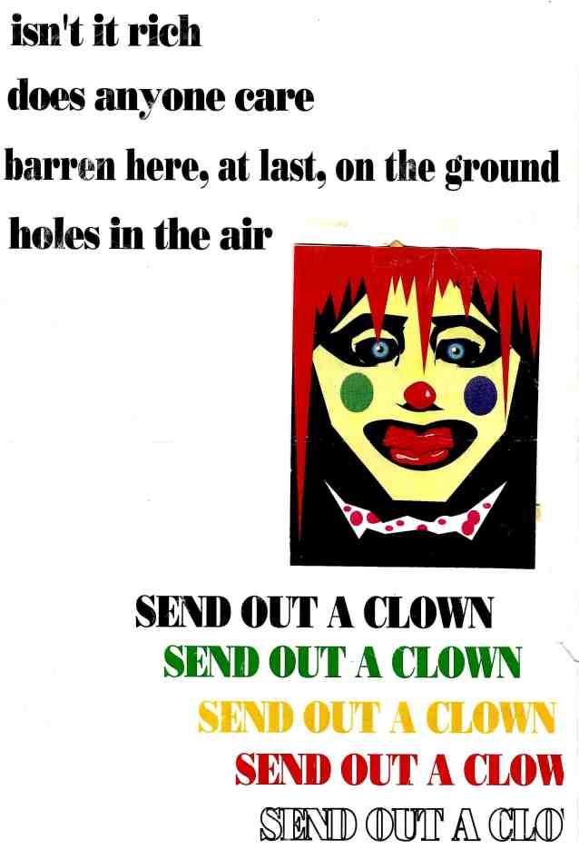 send out clown