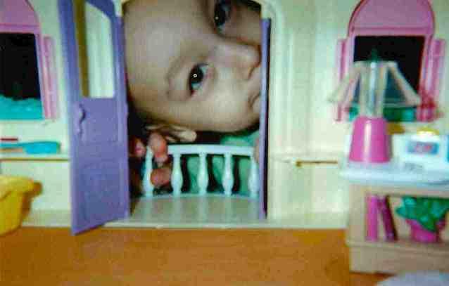 into dollhouse