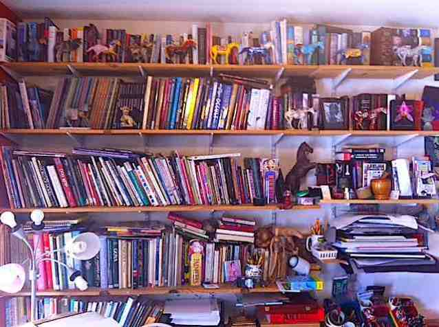 studio bookshelves