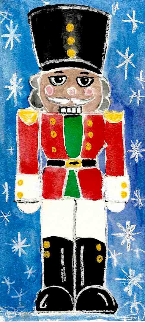 nutcracker red jacket