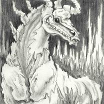 skeleton stallion